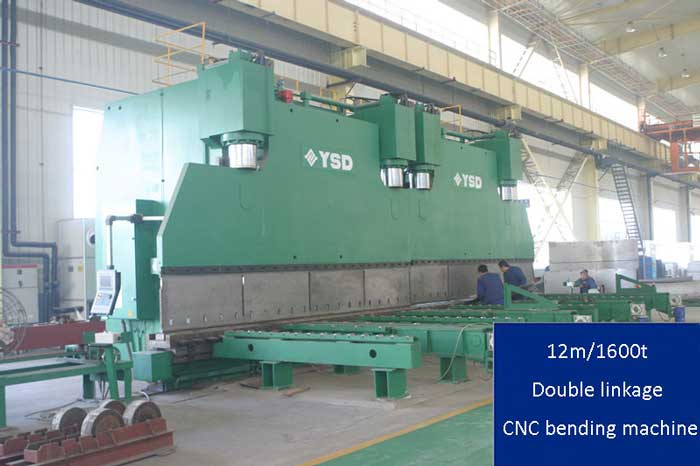 double linkage cnc bending machine