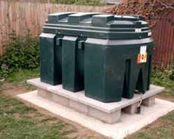 plastic oil tanks