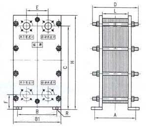 br 0.1 plate heat exchanger