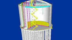 three dimensional map of lng tank 1