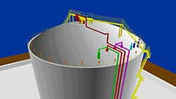three dimensional map of lng tank 3