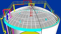 three dimensional map of lng tank 5